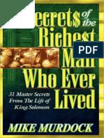 Secrets of the Richest Man Who  - Mike Murdock.epub