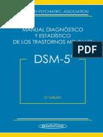 DSM 5 - Manual Diagnóstico y Estadístico de Los Trastornos Mentales-1
