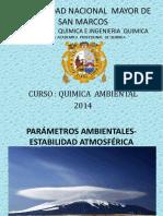 3_Parametros Ambientes & Estabilidad Atmosferica