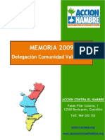 Memoria 2009 C Valenciana