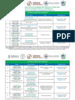Workshops Schedule Ipmp 2019