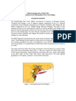 Climate Change and a Global City:An Assessment of the Metropolitan East Coast Region