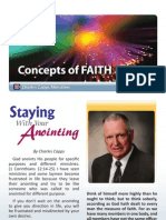 Staying With the Anointing
