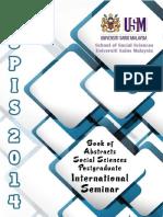 Social Sciences Postgraduate International Seminar 2014