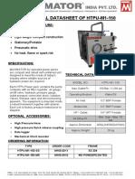 Technical Datasheet of Htpu-m1-150