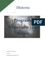 programa primero ciclo básico