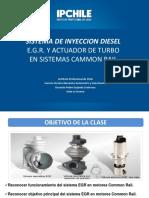 Sistema e.g.r. y Actuador de Turbo en Motores Common Rail