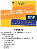 Risk Analysis and Evaluation