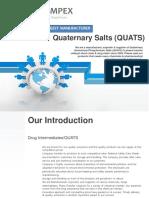 Pat Impex   Quats   Ammonium & Phosphonium Salts   Catalyst