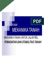 Pemadatan Dan Stabilitas Tanah