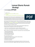 50 Cara Promosi Bisnis Rumah Sakit Dan Strategi Pemasarannya