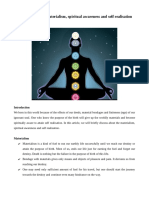 Purpose of Birth, Materialism, Self Realisation and Spiritual Awareness