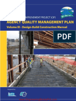 Agency Quality Management Plan Volume 3 Design Build Construction Manual.pdf