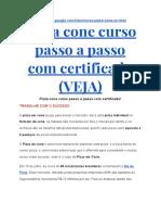 Curso de Pizza No Cone on Line Com Certificado