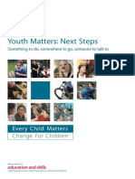 Youth matters Next steps Something to do somewhere to go someone to talk to.pdf