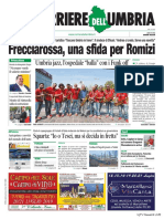 Rassegna stampa dell'Umbria venerdì 19 luglio 2019 UjTV News24 LIVE