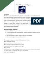 Blue whale challenge a suicide game.pdf