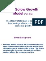 Macro3 Solow Growth Model 1