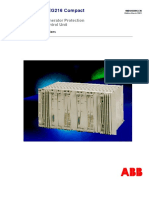 Numerical Generator  Protection ABB
