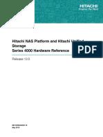NAS Platform v13!5!4000 Hardware Reference MK-92HNAS030-16