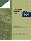 Fm7 15 Universal Task List