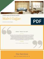 Living Room Design Ideas-malvi Gajjar
