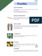 Plantillas Botón Metatarsiano Plantillas Convencionales - PDF