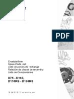 manual de partes Serie D