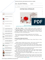 Sistem Pada Sprinkler _ (Mep) Mekanikal Elektrikal Plumbing