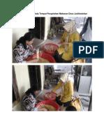 Inspeksi Sanitasi Pada Tempat Pengolahan Makanan Desa Juntikedokan