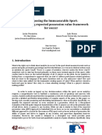 Decomposing the Immeasurable Sport