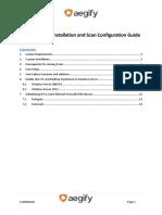 Aegify Scanner Installation Configuration Guide