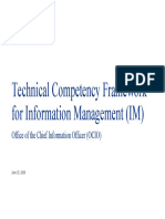 Technical Competency Framework for Data Analyst