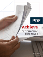 PER Performance Objectives Achieve