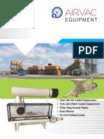 Twin LOBE compressor catalog from airvac machienrs