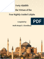Forty Ahaadith 4 Rightly Guided Caliphs by Mufti Muajul I. Chowdhury