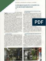Reforma de un establecimiento comercial con paràmetros de bioconstrucción