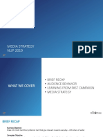 Media Strategy NUP 3 2019