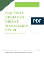 Proposal Manajemen Nyeri