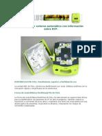 Desfibrilador AED + Plus de Zoll