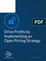 Drive Profits by Implementing an Open Pricing Strategy