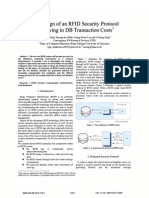 The Design of an RFID Security Protocol