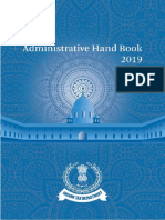 Administrative Handbook 2019