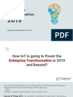 How IoT is Transformed the Power Enterprise Transformation in 2019