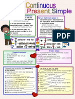 Present Continuous or Present Simple Grammar Drills 24365