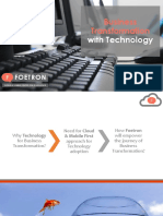 Foetron - Your Business Transformation Partner