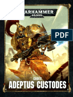 Codex Custodes - Trasfondo