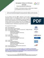 flyer eu values - closing dissemination event