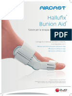 00-1391-IT-Rev a Aircast Bunion Aid Datasheet (HR)