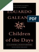 Eduardo Galeano - Children of the Days_ A Calendar of Human History (2013, Nation Books).pdf